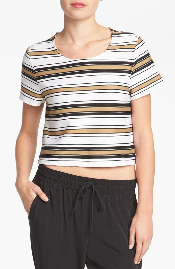 Alternate Image 1 Selected - WAYF Stripe Knit Top
