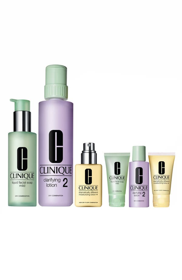 Alternate Image 2  - Clinique 'Great Skin Home & Away' Set for Dry/Combination Skin ($89 Value)
