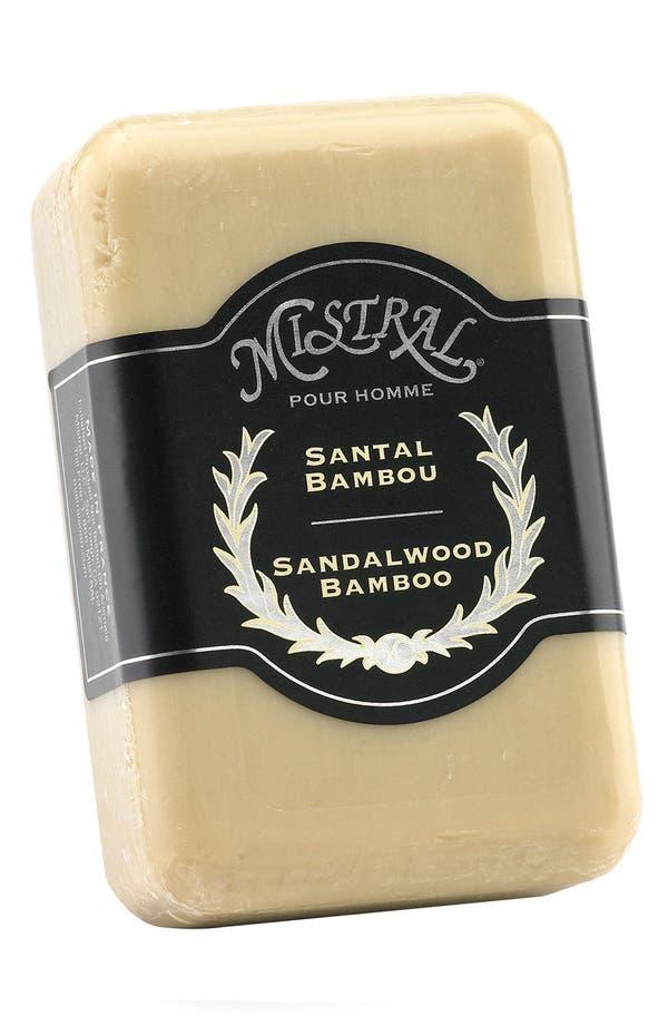 Alternate Image 1 Selected - Mistral 'Sandalwood Bamboo' Bar Soap