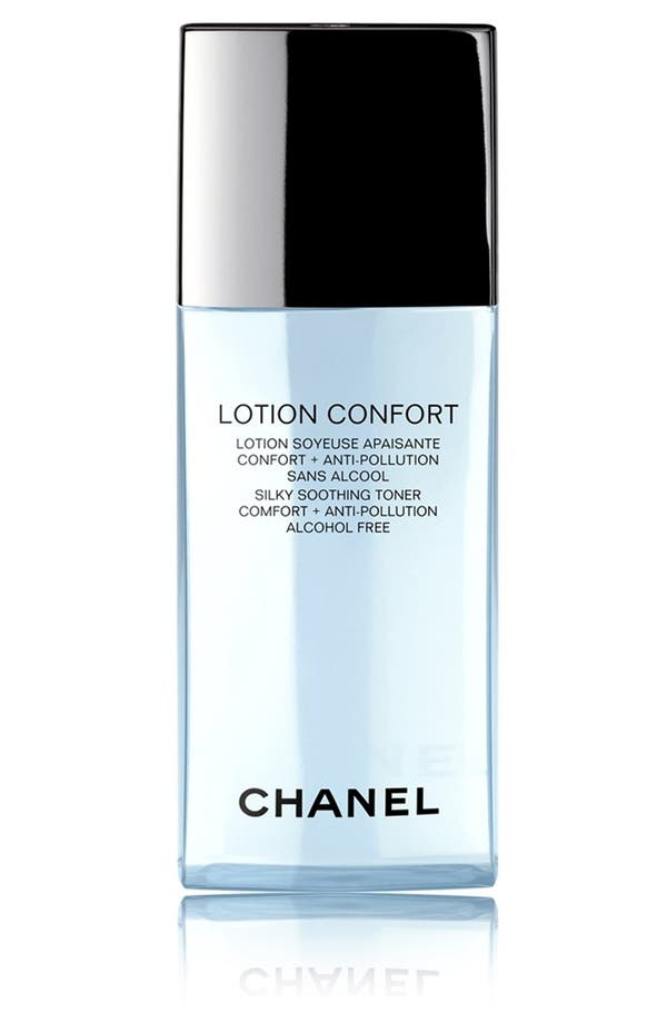 LOTION CONFORT<br />Silky Soothing Toner Comfort + Anti-Pollution,                             Main thumbnail 1, color,                             No Color