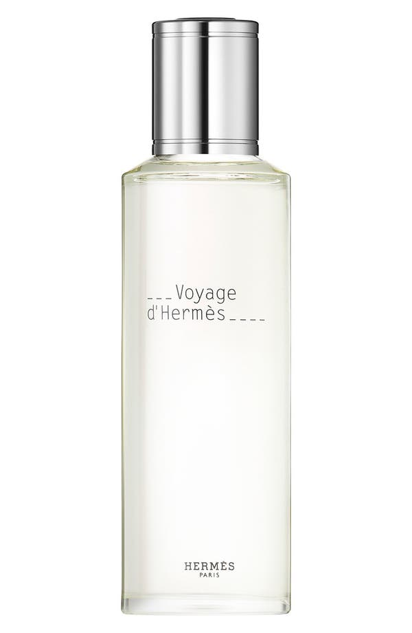 Hermès Voyage d'Hermès - Eau de toilette refill,                             Main thumbnail 1, color,                             No Color