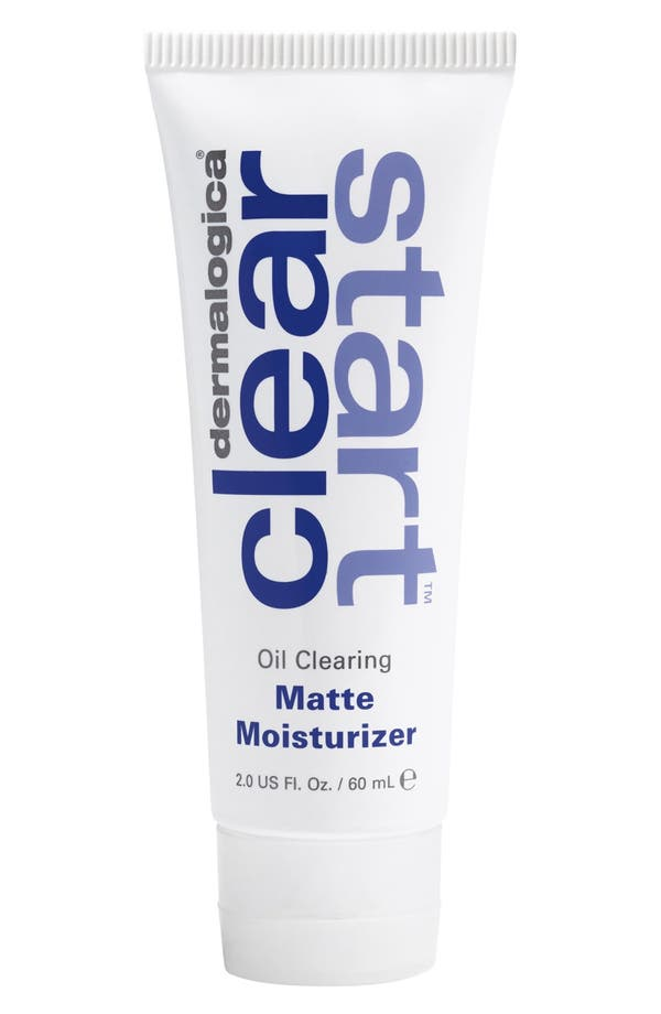 'Clear Start<sup>™</sup>' Oil Clearing Matte Moisturizer,                             Main thumbnail 1, color,                             No Color