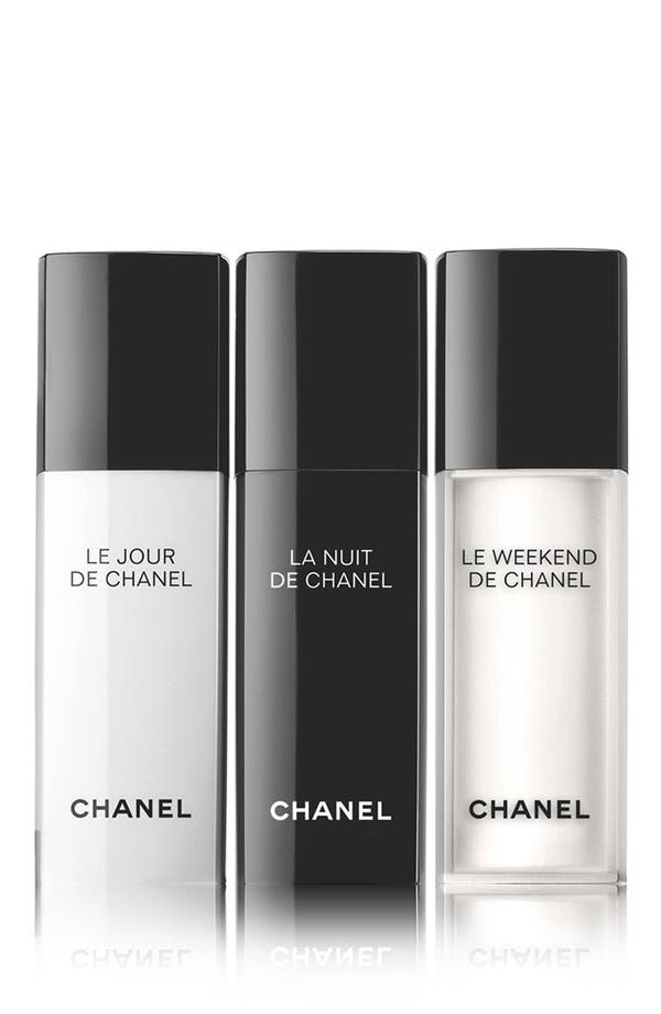 Alternate Image 1 Selected - CHANEL RESYNCHRONIZING SKINCARE TRIO