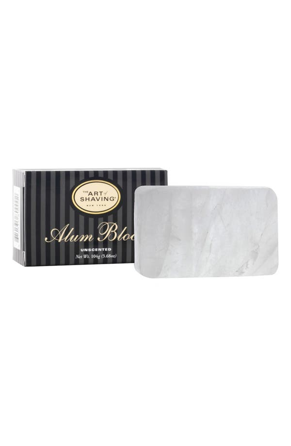 Alternate Image 1 Selected - The Art of Shaving® Unscented Alum block