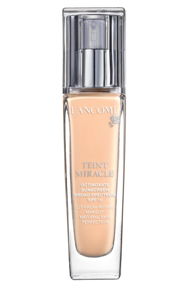Main Image - Lancôme Teint Miracle Lit-from-Within Makeup Natural Skin Perfection SPF 15
