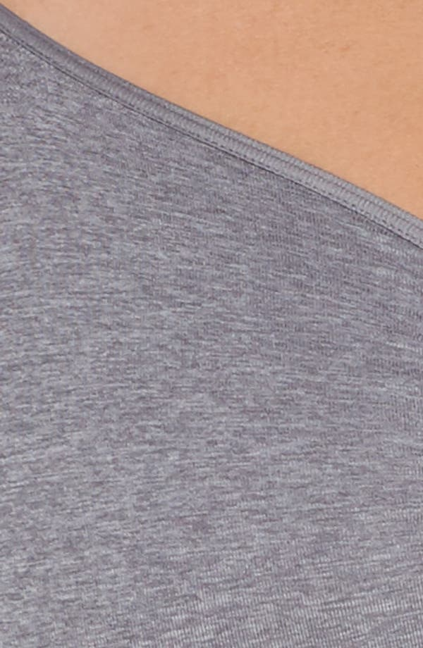 Seamless Day Bra,                             Alternate thumbnail 6, color,                             Grey Excalibur Heather
