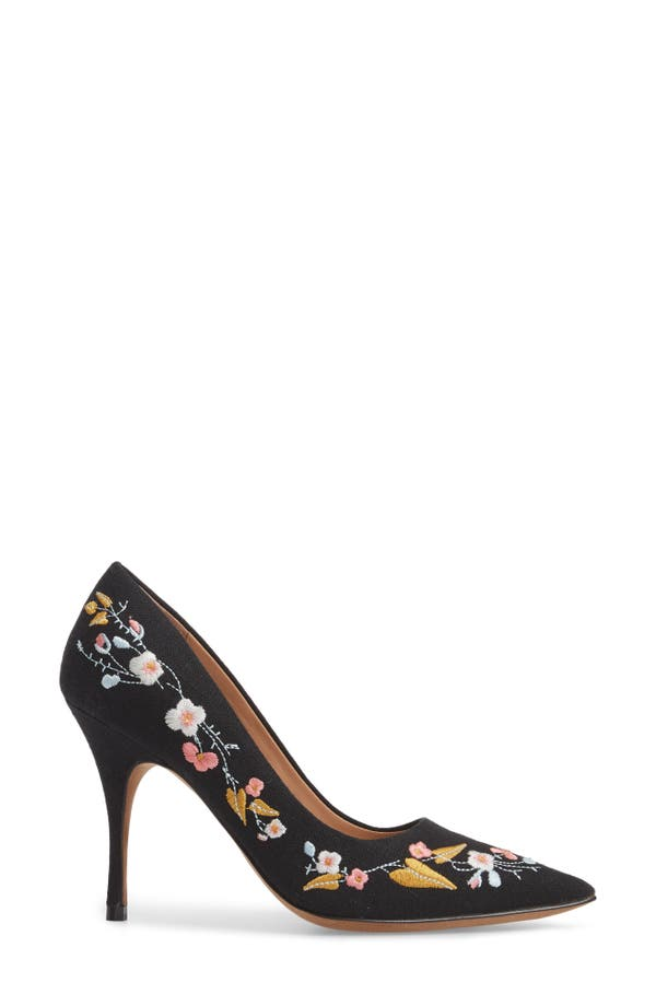 Linea Paolo Women's Paisley Embroidered Pump