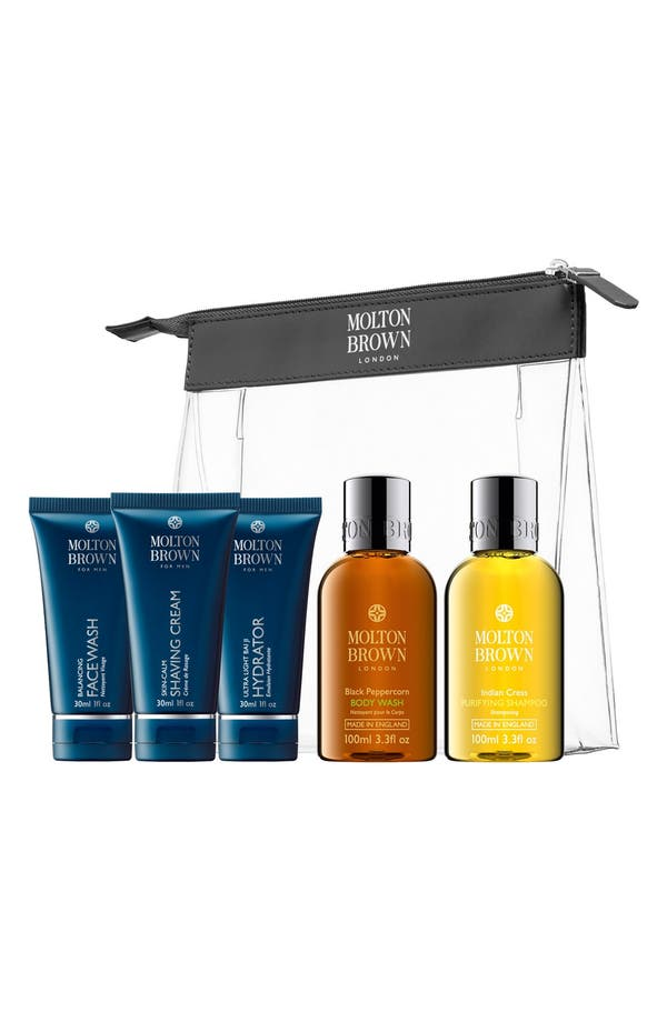 Main Image - MOLTON BROWN London Mens' Carry-On Set