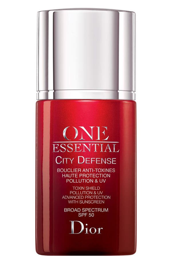 Main Image - Dior 'One Essential' City Defense Toxin Shield Pollution & UV Advanced Protection SPF 50