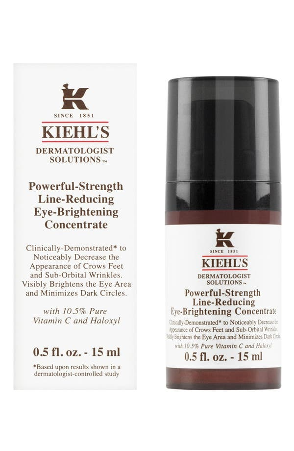 Alternate Image 2  - Kiehl'sSince 1851 'Dermatologist Solutions™' Powerful-Strength Line-Reducing Eye-Brightening Concentrate