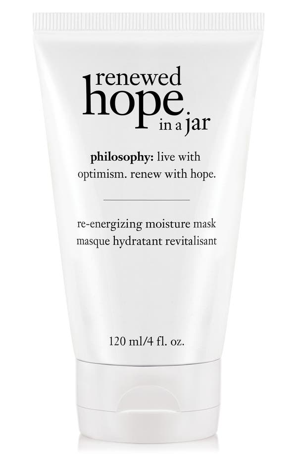 renewed hope in a jar re-energizing moisture mask,                             Main thumbnail 1, color,                             No Color