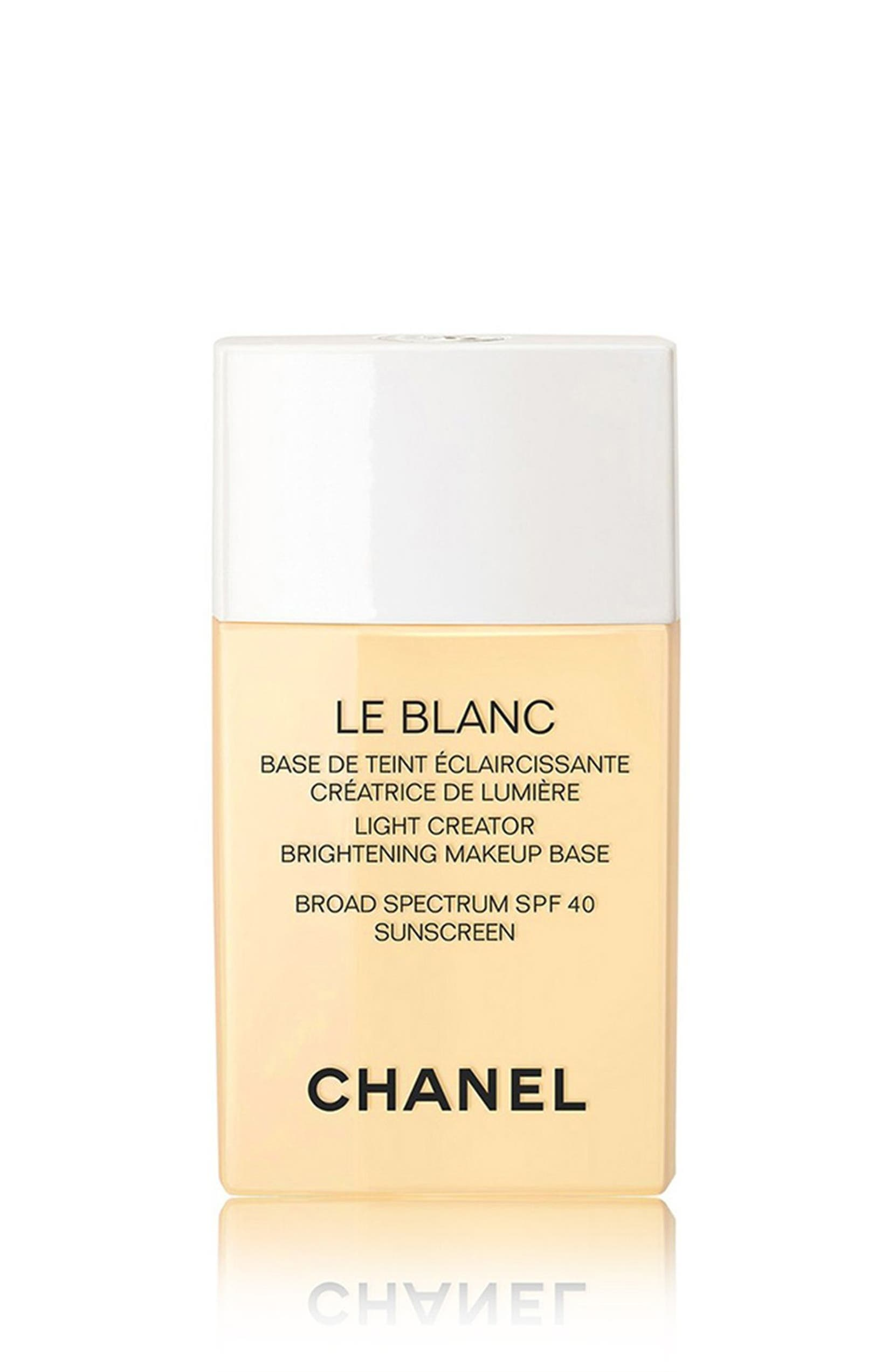 CHANEL LE BLANC LIGHT CREATOR Brightening Makeup Base Broad Spectrum ...
