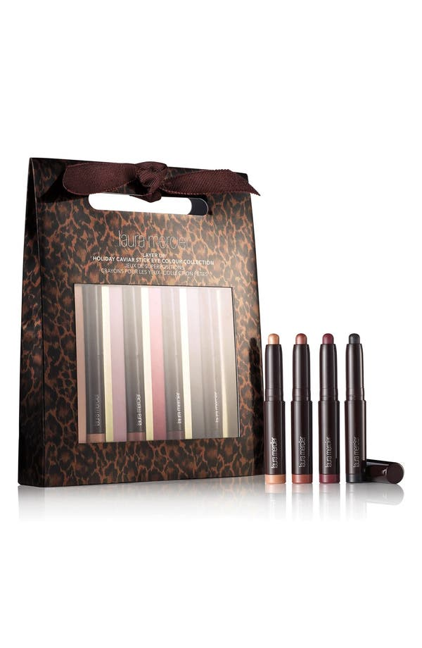 Main Image - Laura Mercier 'Layer Up' Caviar Stick Eye Color Collection (Limited Edition) ($67 Value)