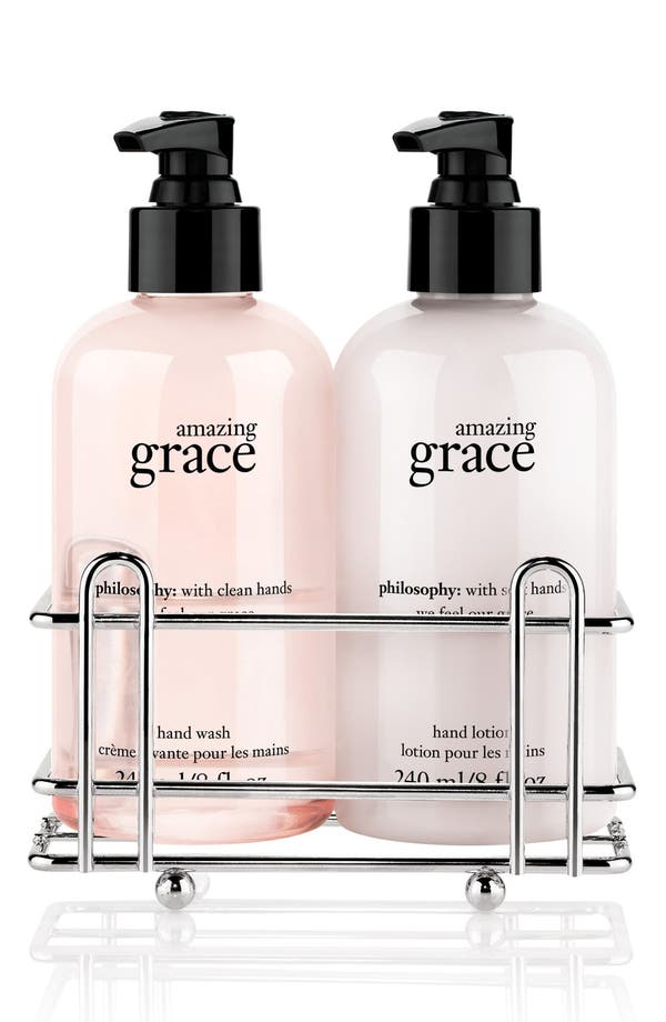 Alternate Image 1 Selected - philosophy 'grace for the holidays' set (Limited Edition) (Nordstrom Exclusive) ($30 Value)