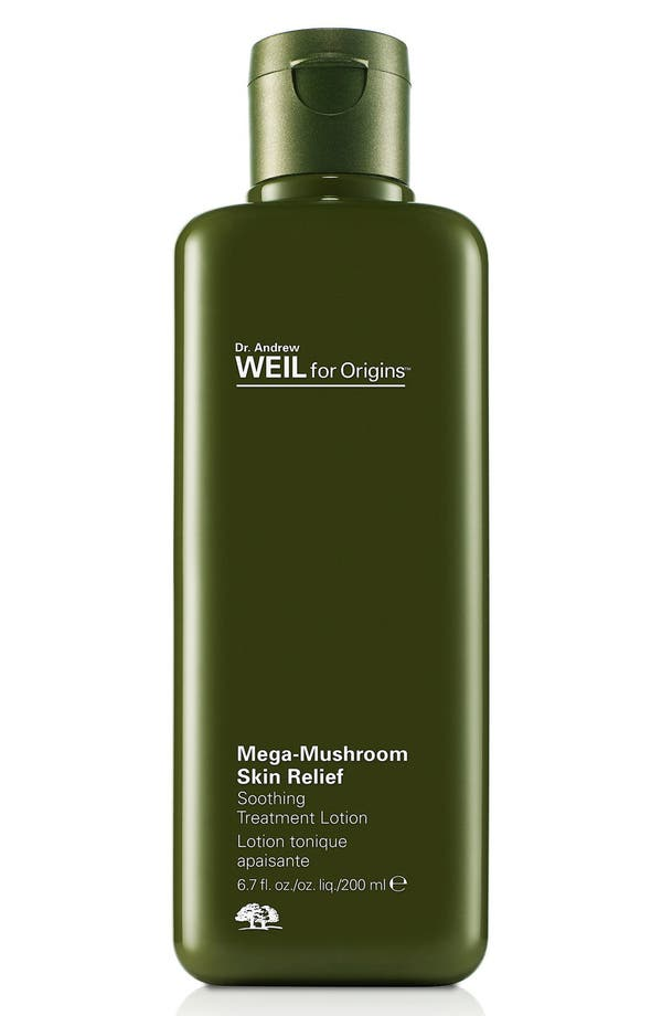 Dr. Andrew Weil for Origins<sup>™</sup> Mega-Mushroom Skin Relief Soothing Treatment Lotion,                         Main,                         color, No Color