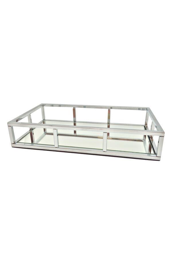Chrome Mirror Tray,                         Main,                         color, No Color