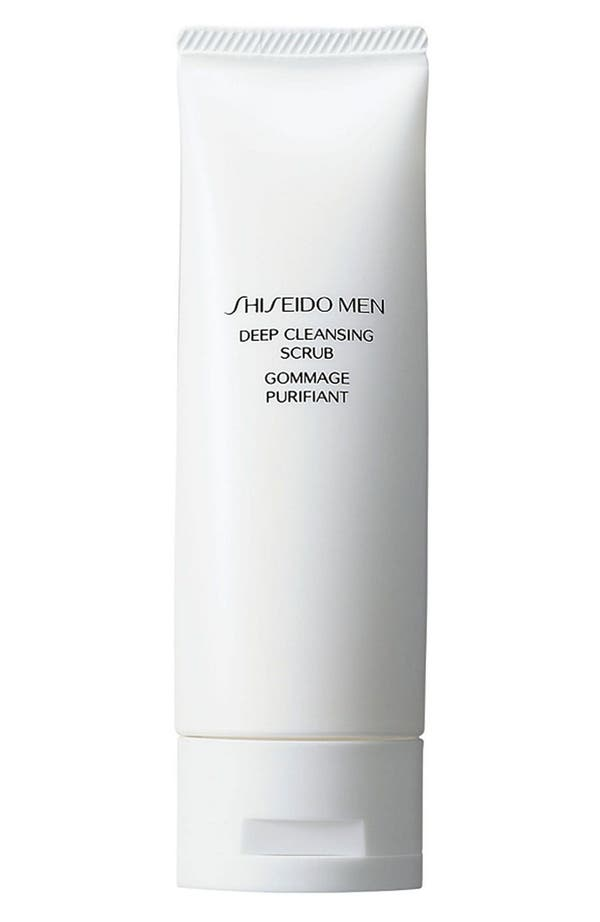 Main Image - Shiseido Men Deep Cleansing Scrub