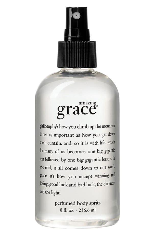 'amazing grace' perfumed body spritz,                         Main,                         color,