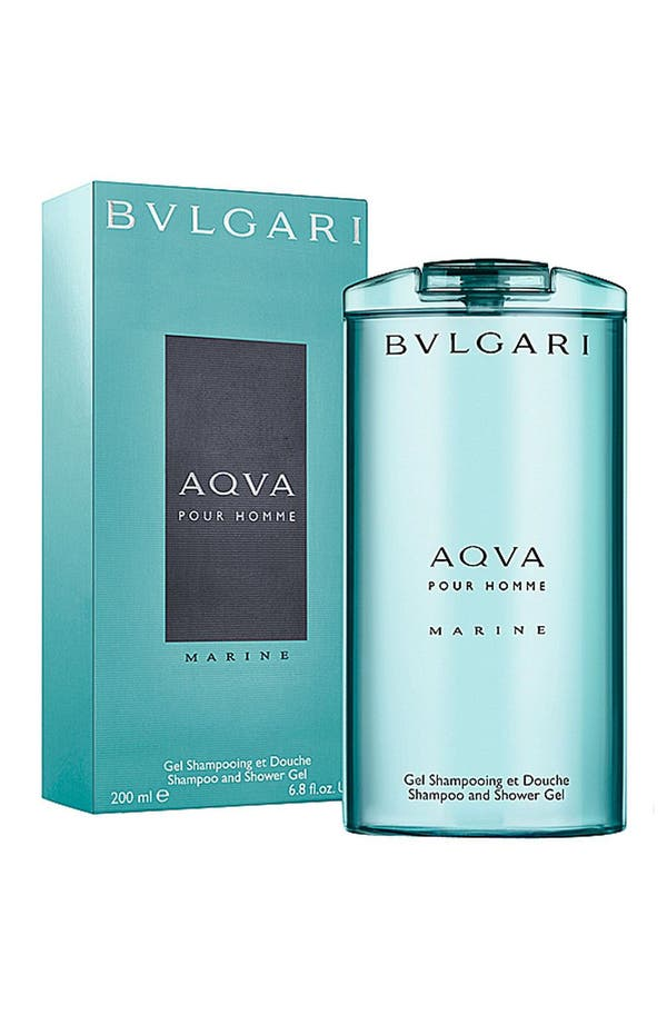 Alternate Image 1 Selected - BVLGARI 'AQVA pour Homme - Marine' Shampoo & Shower Gel