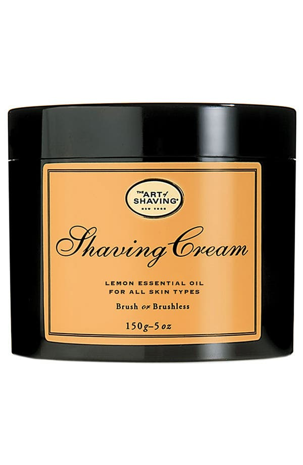 Main Image - The Art of Shaving® Lemon Shaving Cream