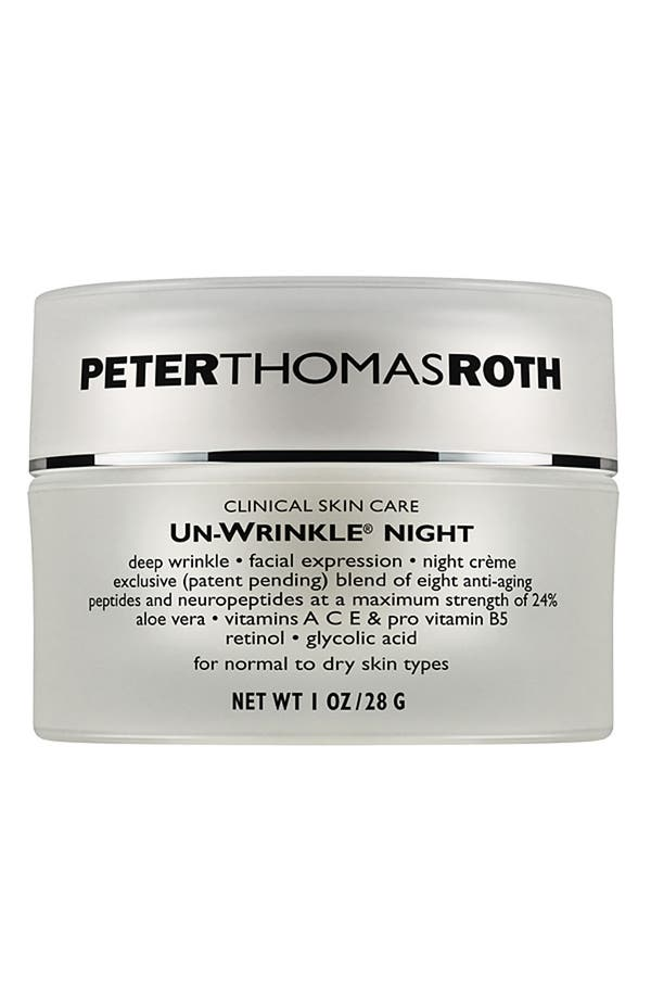 'Un-Wrinkle<sup>®</sup>' Night Crème,                         Main,                         color, No Color