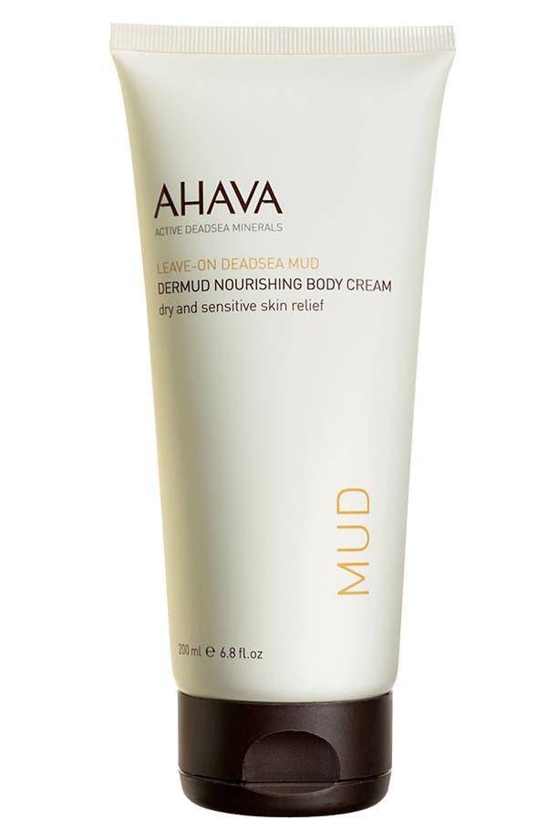 Alternate Image 1 Selected - AHAVA Dermud Nourishing Body Cream