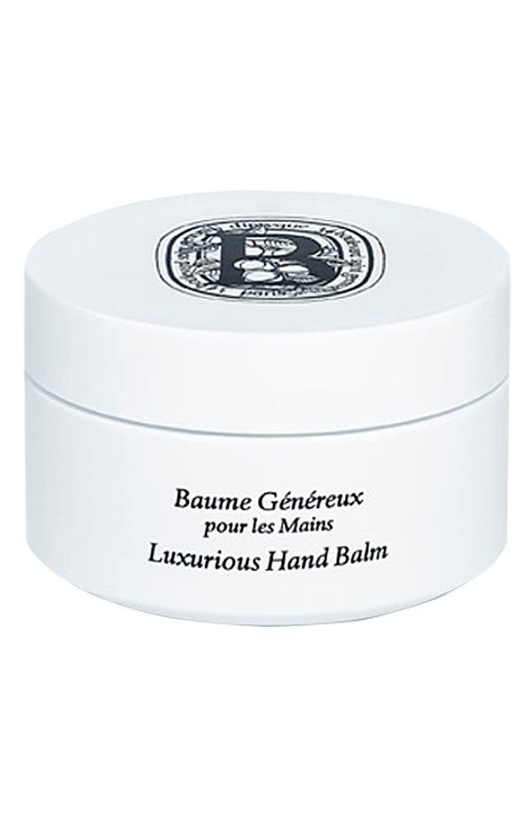 Alternate Image 1 Selected - diptyque Luxurious Hand Balm