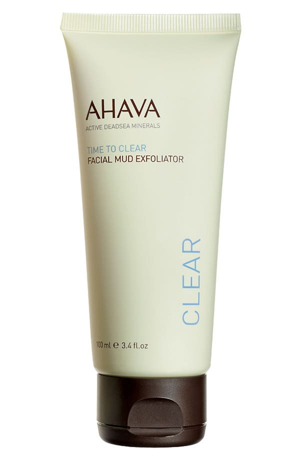 Main Image - AHAVA 'Time to Clear' Facial Mud Exfoliator