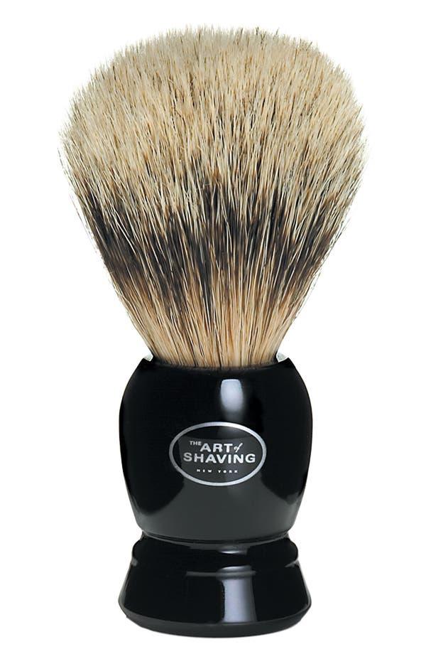 Alternate Image 1 Selected - The Art of Shaving® Fine Badger Shaving Brush - Black Handle