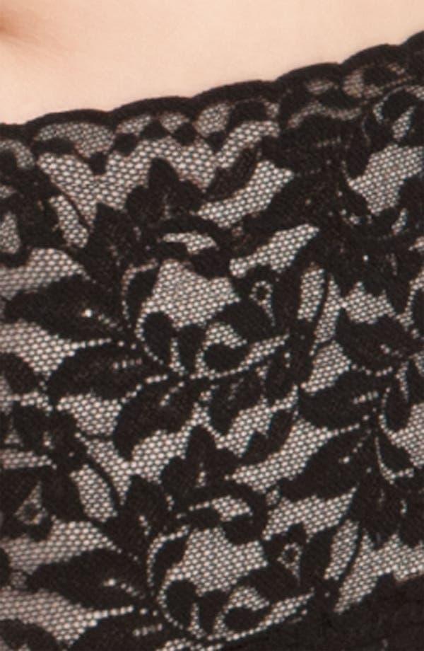 'Retro Vikini' Briefs,                             Alternate thumbnail 3, color,                             Black