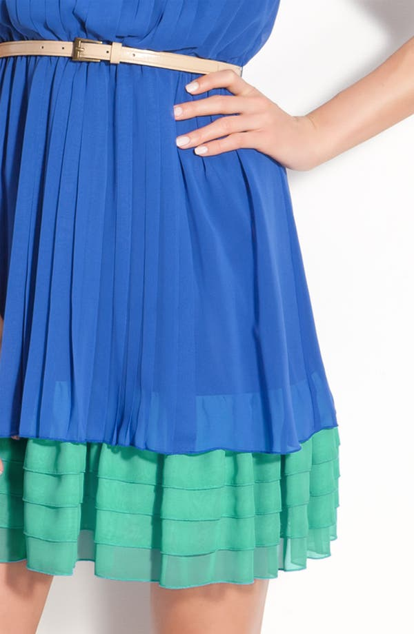 Alternate Image 3  - Jessica Simpson Sleeveless Chiffon Dress