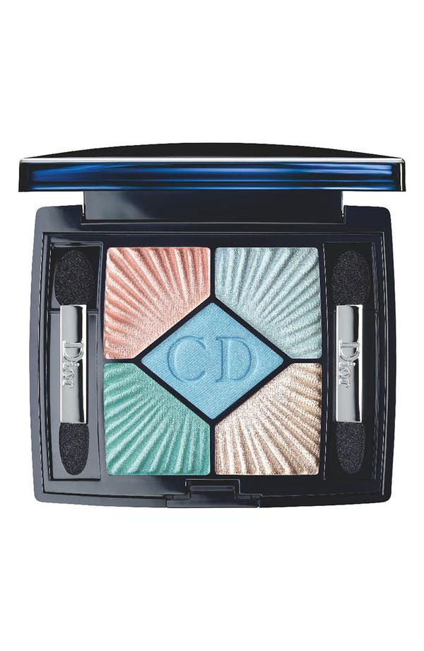 Main Image - Dior 'Le Croisette' 5-Color Palette Swimming Pool