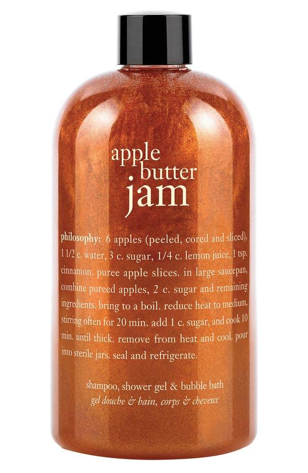 Main Image - philosophy 'apple butter jam' shampoo, shower gel & bubble bath (Nordstrom Exclusive)