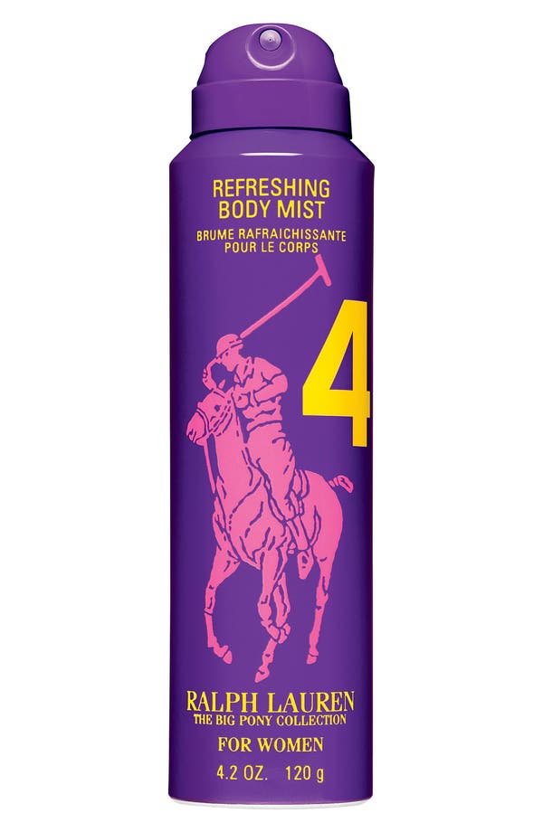 Alternate Image 1 Selected - Ralph Lauren 'Big Pony #4 - Purple' For Her Refreshing Body Mist