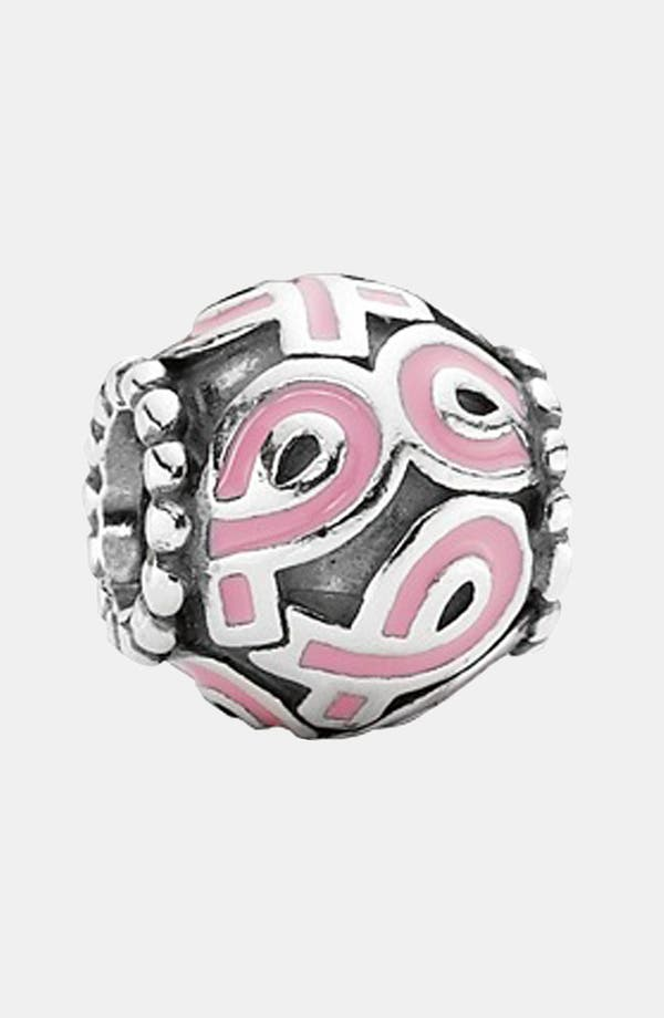 Alternate Image 1 Selected - PANDORA Pink Ribbon Charm