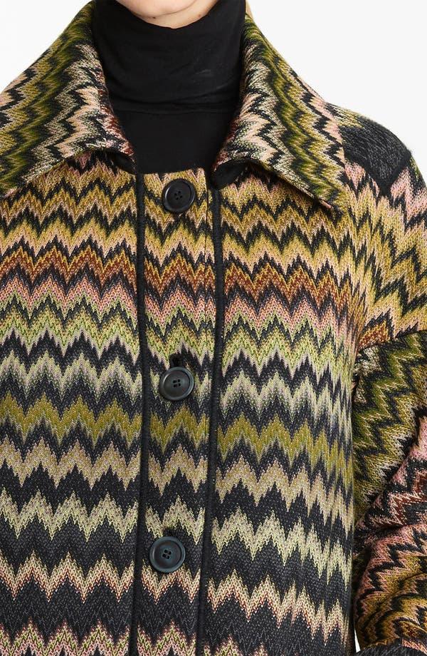 Alternate Image 3  - Missoni Zigzag Coat