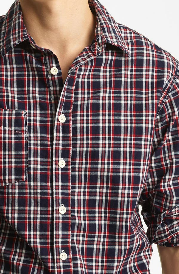 Alternate Image 3  - Billy Reid 'Elkins' Plaid Woven Shirt