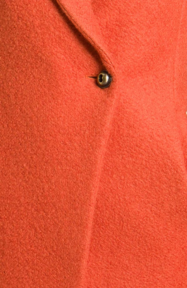 Alternate Image 3  - Kenneth Cole New York Notch Collar Bouclé Coat