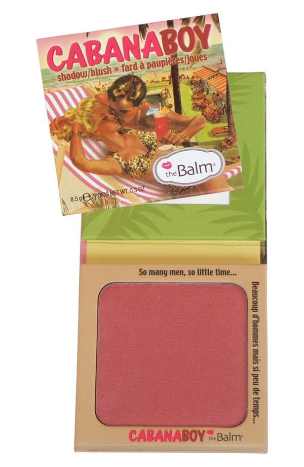 Alternate Image 1 Selected - theBalm® 'Cabana Boy®' Powder Eyeshadow & Blush