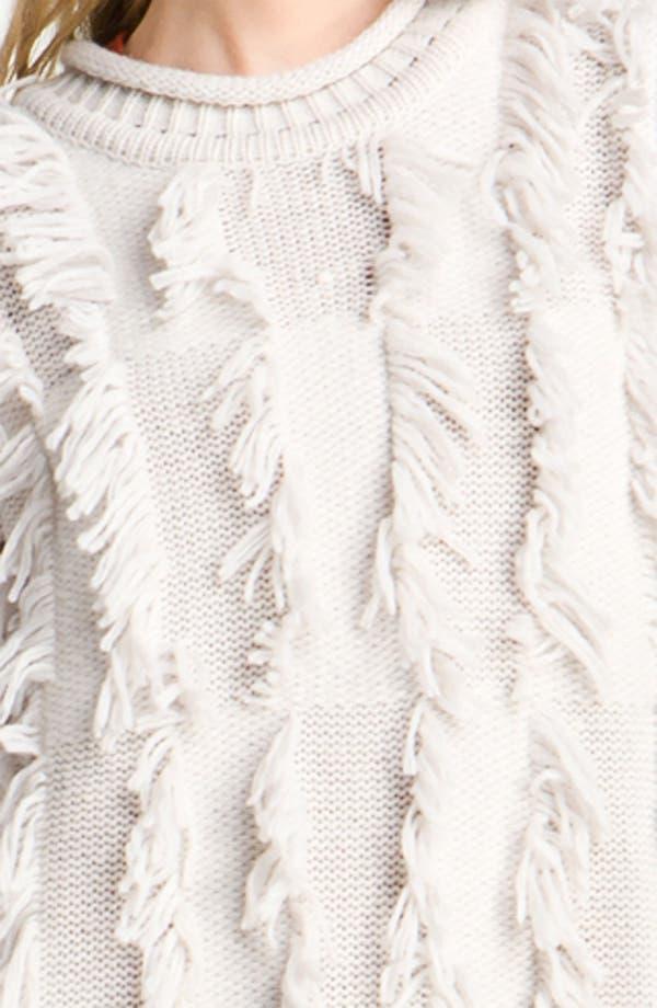 Alternate Image 3  - 3.1 Phillip Lim Fringe Intarsia Tunic Sweater