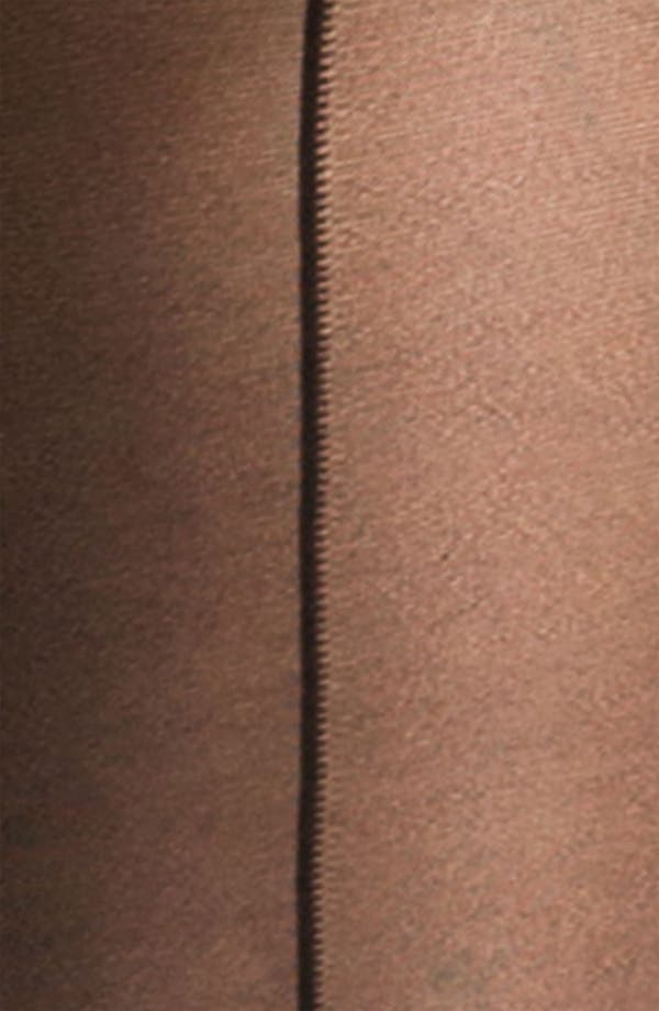 Alternate Image 2  - Nordstrom Sheer Back Seam Control Top Stockings