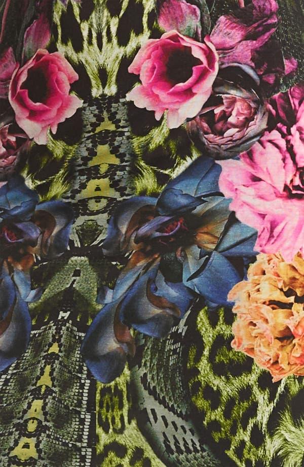 Alternate Image 3  - Roberto Cavalli Flower Print Jersey Dress