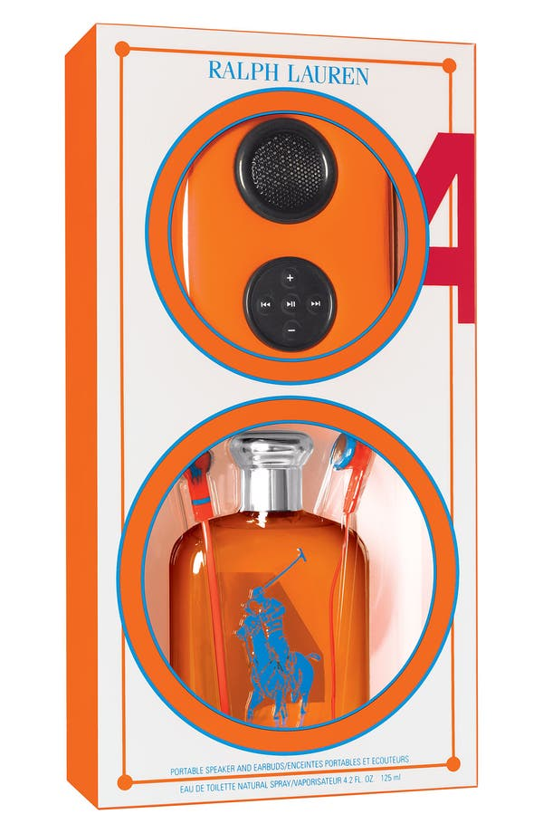 Alternate Image 1 Selected - Ralph Lauren 'Big Pony #4 - Orange' Speaker Set