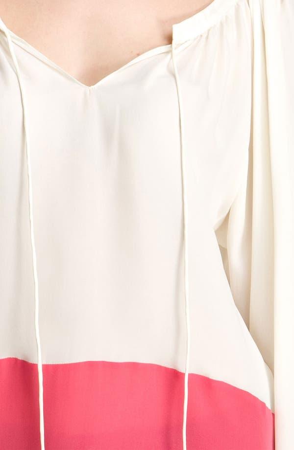 Alternate Image 3  - Parker Colorblock Silk Blouse