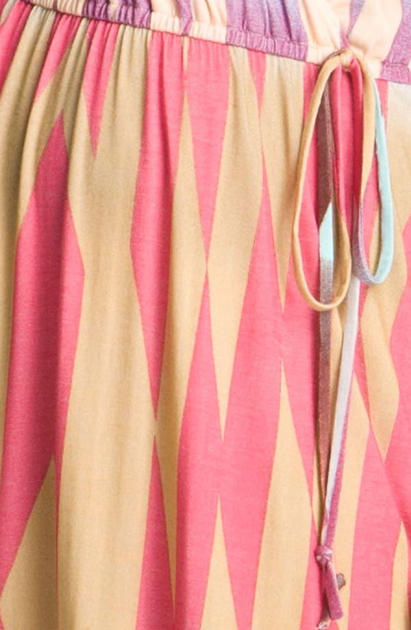 Alternate Image 4  - Presley Skye Print Surplice Jersey Maxi Dress