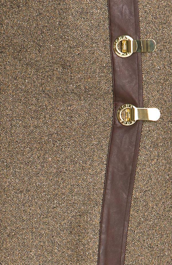 Alternate Image 3  - MICHAEL Michael Kors Faux Wrap Tweed Skirt