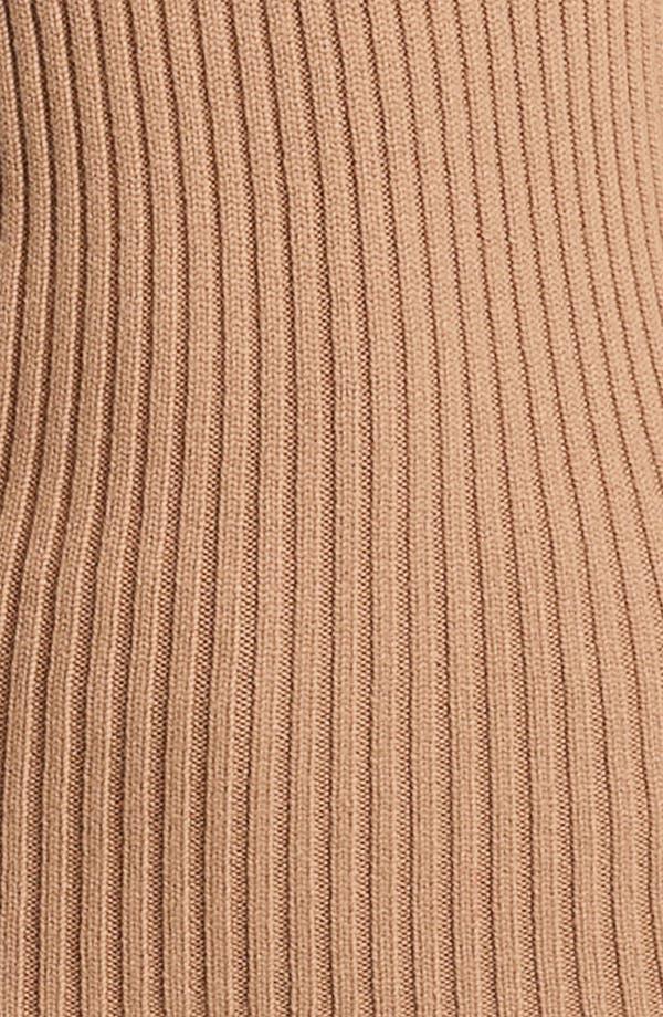 Alternate Image 2  - Michael Kors Ribbed Cashmere Turtleneck