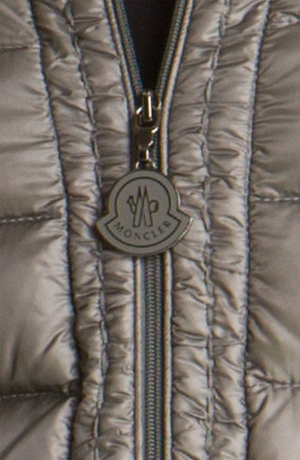 Alternate Image 3  - Moncler 'Vanneau' Fitted Down Coat