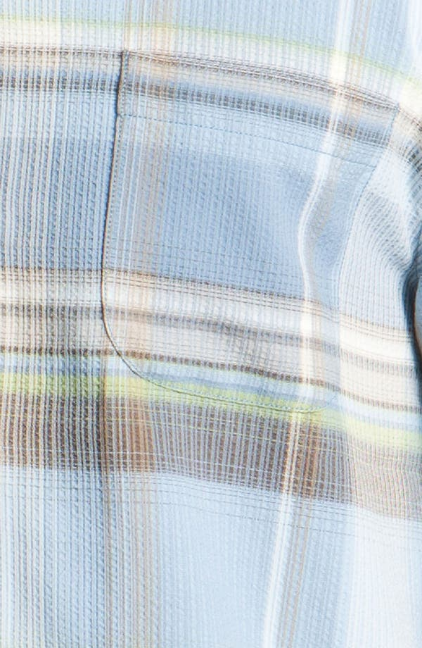 Alternate Image 3  - Tommy Bahama 'Big Bad Plaid' Silk Campshirt