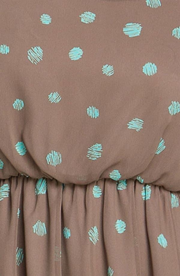 Alternate Image 3  - Lush Print Blouson Dress (Juniors)